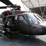 PZL Mielec exhibe un pilón de armamento simple para el Black Hawk