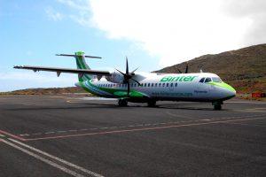 Binter estrena nueva conexión entre La Gomera y Gran Canaria el 1 de agosto