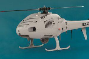 Indra pondrá a prueba su helicóptero no tripulado Pelícano en el marco del proyecto Ocean2020