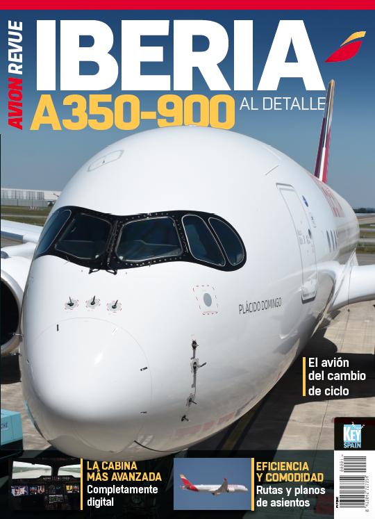 Portada Iberia A350