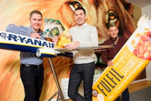 """Ryanair lanza su nuevo menú a bordo """"Gateaway Café"""""""