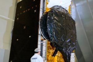 Airbus ha enviado el satélite totalmente eléctrico SES-12 a la base de lanzamiento