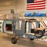 El primer helicóptero de combate HH-60W ingresa a línea de ensamblaje final
