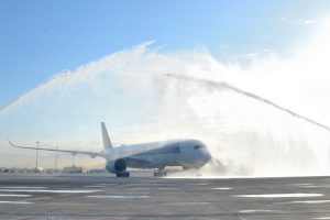 El A350 de Singapore Airlines comienza a operar en Barcelona