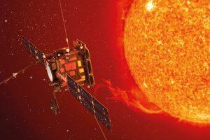 Recreación de Solar Orbiter