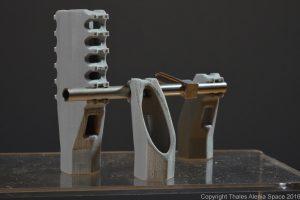 Thales Alenia Space ya ha puesto en órbita 79 piezas metálicas realizadas con impresión 3D