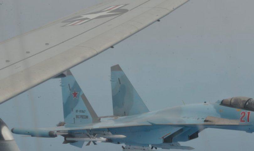 Su-35, P-8A, US Navy