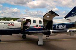 Daher presenta su nuevo TBM 910 en el papel de taxi aéreo en Le Bourget