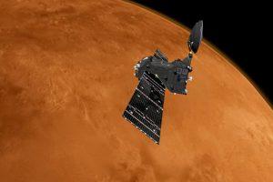 El orbitador ExoMars pronto comenzará a buscar gases asociados a procesos geológicos o biológicos activos en Marte