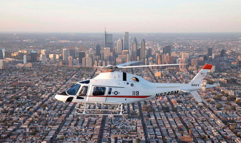 Helicoptero TH-73A de Leonardo