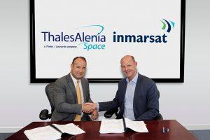 Thales Alenia Space firma un contrato con Inmarsat para la construcción de un satélite GX
