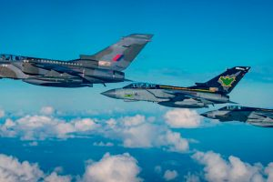 La RAF conmemora los 40 años en servicio del Tornado