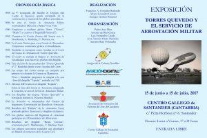"""Exposición """"Leonardo Torres Quevedo y el Servicio de Aerostación Militar"""""""