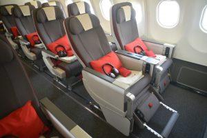 Iberia presenta su primer avión equipado con la clase Turista Premium