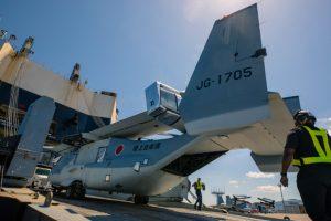 V-22 Osprey, Japón
