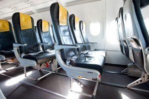 Avión Vueling Interior