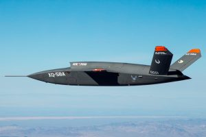 El demostrador XQ-58A Valkyrie completa su vuelo inaugural