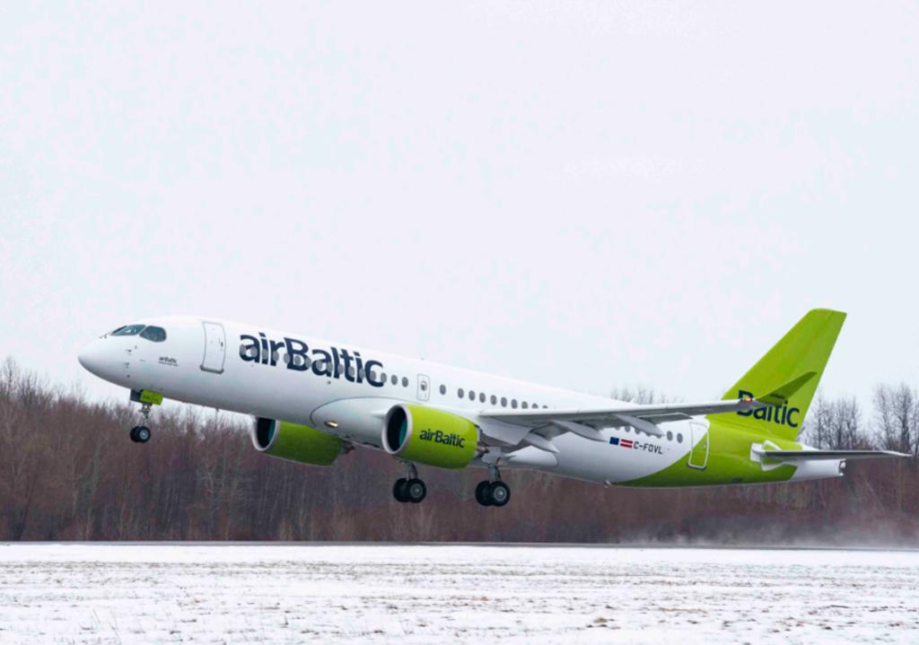 A220 de Airbaltic