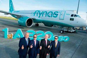 Flynas es la primera aerolínea saudí en recibir el A320neo