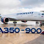 Aeroflot recibe su primer A350-900