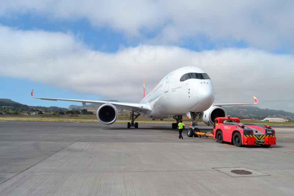 A350, Iberia, Canarias