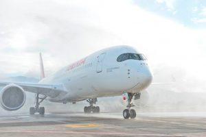 A350 de Iberia en Costa Rica