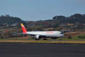 Iberia, A350, Canarias