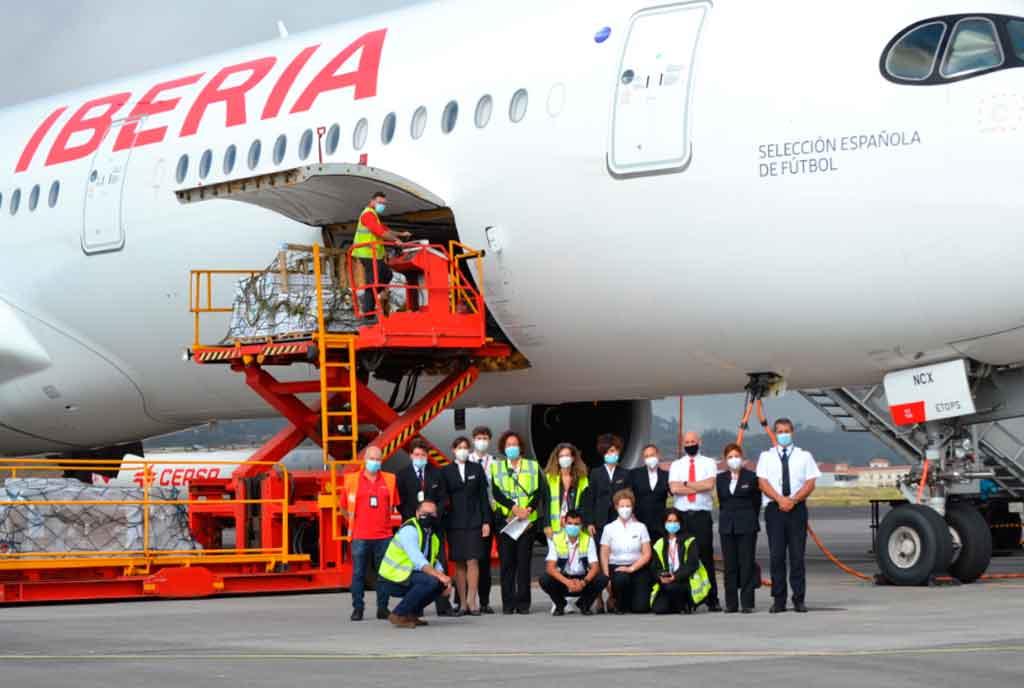 A350, Iberia, Airbus, tripulación