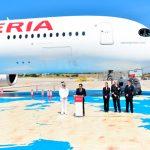 """Iberia recibe su 5º A350 al que bautiza """"Juan Sebastián Elcano"""""""