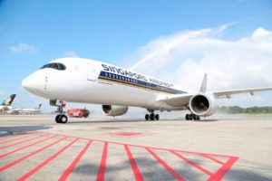 Singapore Airlines, A350