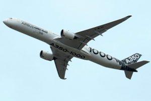 El A350-1000 comienza una gira de demostración por Medio Oriente y Asia-Pacífico