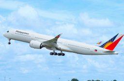 Philippine Airlines recibe su primer A350 XWB