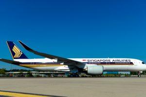 Primer A350 XWB ULR para Singapore Airlines