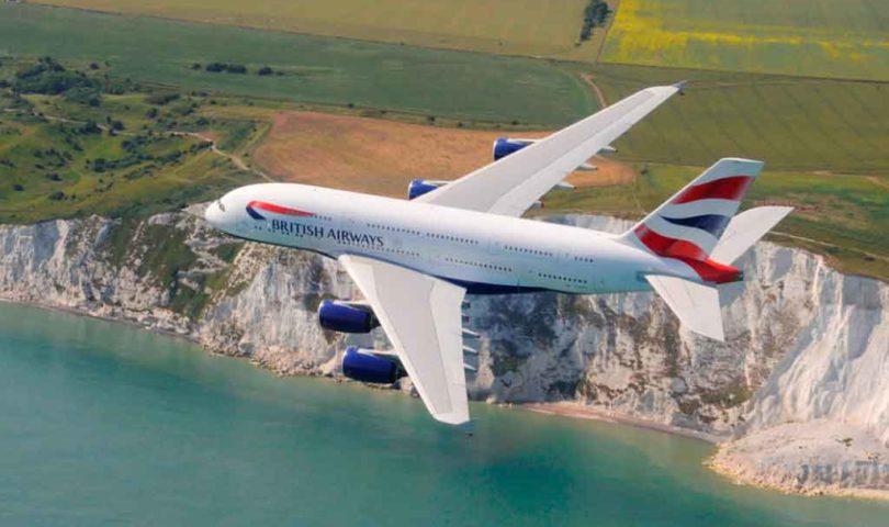 A380, British Airways