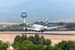 Barajas, AENA, A38, Emirates