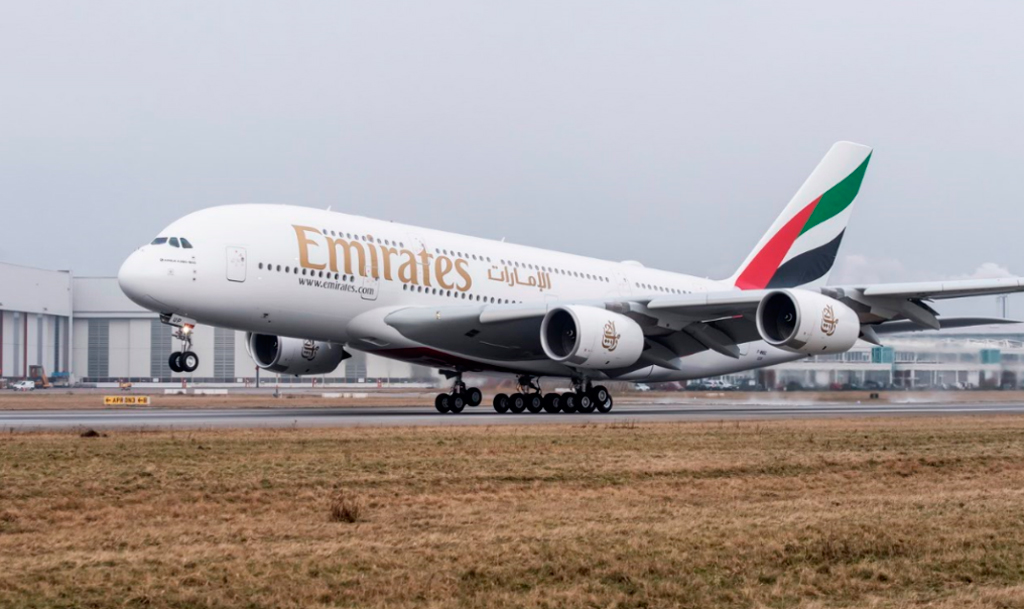 A380, Airbus, Emirates