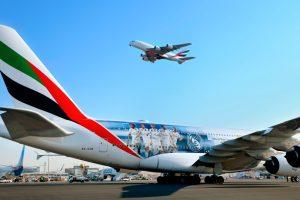 Video: Emirates presenta el nuevo A380 con la imagen del Real Madrid