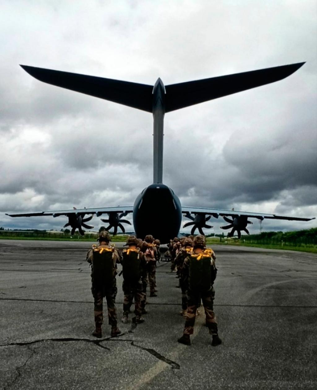 A400M, paracaidistas