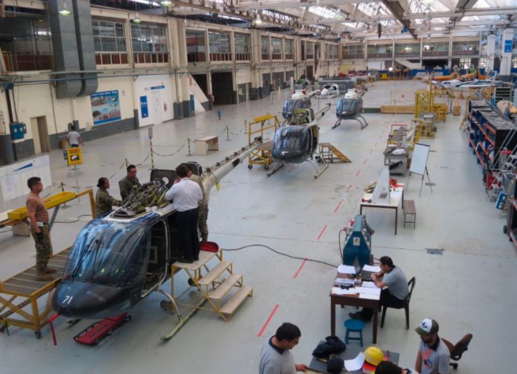 AB-206, FADEA, Modernización, Ejército Argentino