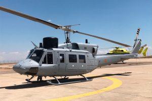 SENER y Babcock entregan a la Armada la sexta unidad modernizada del AB-212