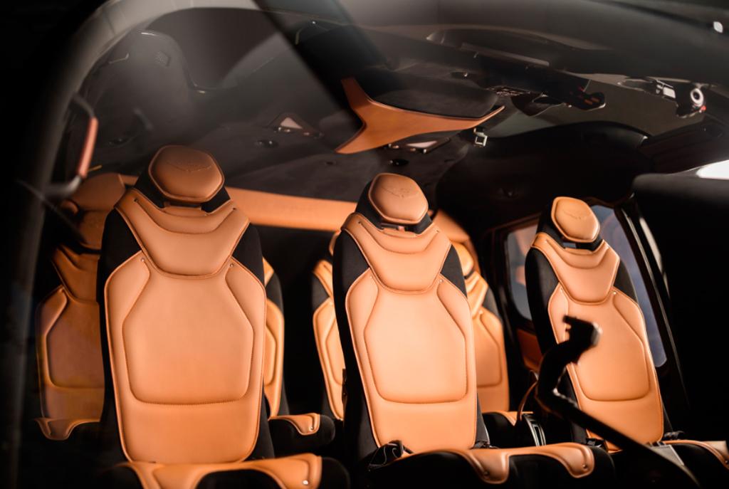 Interior ACH130 Edición Aston Martin
