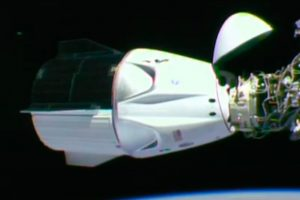acoplamiento, crew dragon, spacex, iss