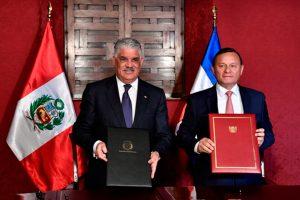 Tratado bilateral entre Perú Y República Dominicana en materia de transporte aéreo