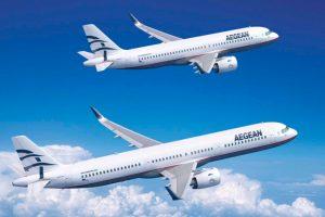 A320neo y A321neo de Aegean Airlines