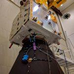 El satélite sensor del viento Aeolus está listo para su transporte