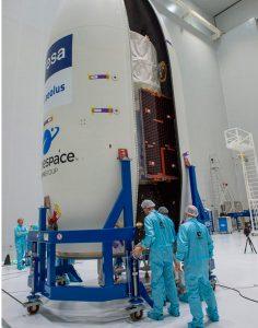"""El satélite """"Aeolus"""" sellado y listo para el despegue"""