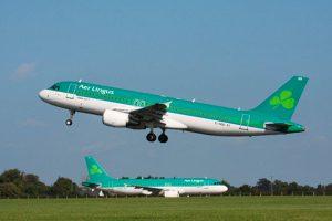 Aer Lingus mantiene sus vuelos directos desde Dublin a  Santiago de Compostela y a Bilbao este invierno