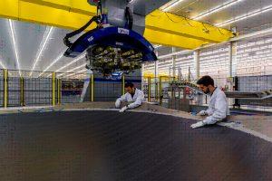 Aernnova entrega la primera estructura compleja de materiales compuestos para el Boeing 787 Dreamliner