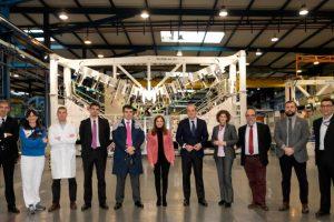 Aernnova recibe la visita de la Consejera de Trabajo del País Vasco