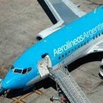 Aerolíneas Argentinas realiza nuevos vuelos especiales